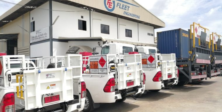 FLEET Pick-up Truck for Gas Delivery