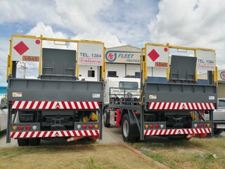 FLEET Tail Lift for Truck Delivey Gas